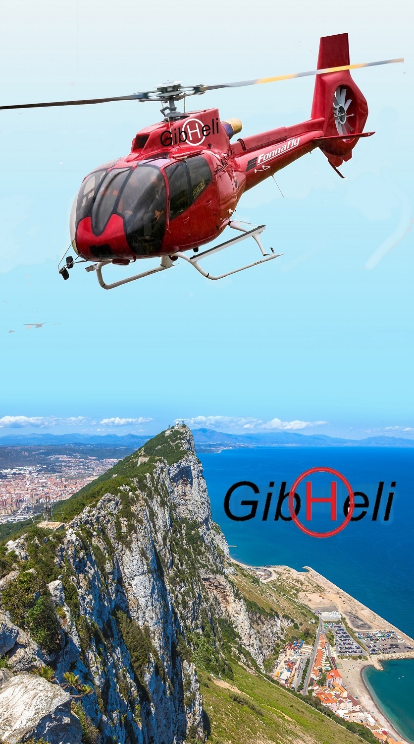 Gibraltar helicopter VIP Transfer and taxi flights