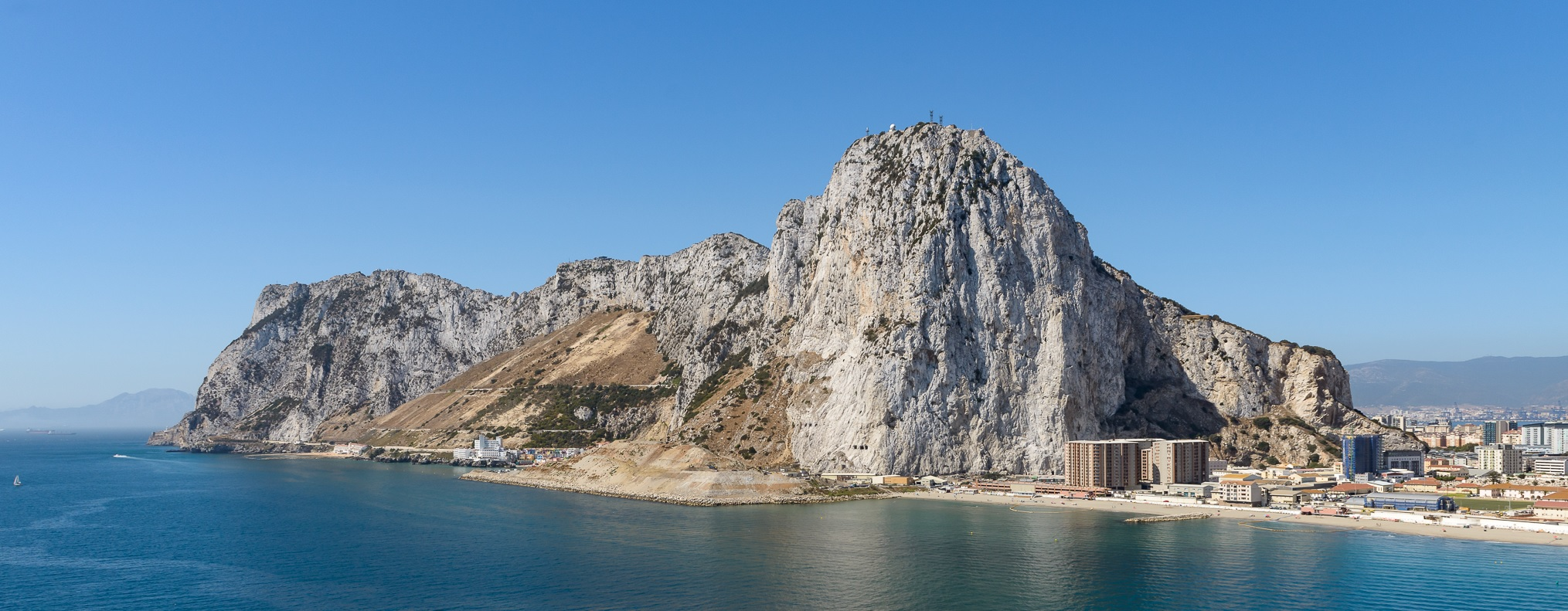 Gibraltar best from helicopter GibHeli