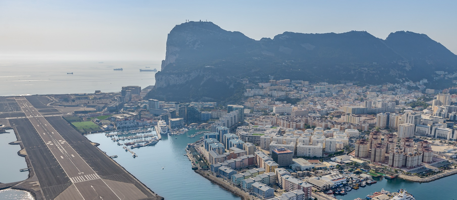 Gibraltar airport Helicopter flights -from GibHeli
