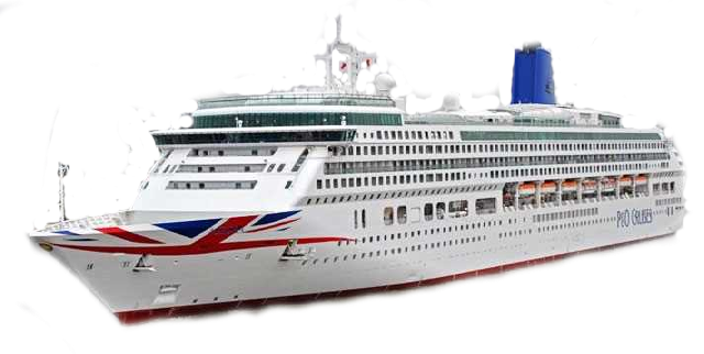P&O activities in Gibraltar Aurora Price List