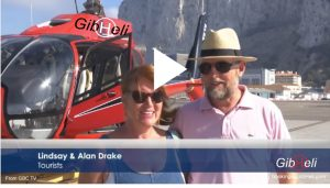 Helicopter flights around the Rock - Gibraltar - Watch the video and book on GibHeli.com